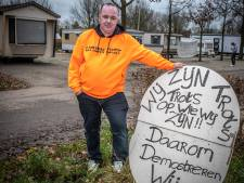 'Onverwachts' mooi begin van 2020 voor Zwolse woonwagenbewoners: protestkamp wordt voorlopig niet verwijderd