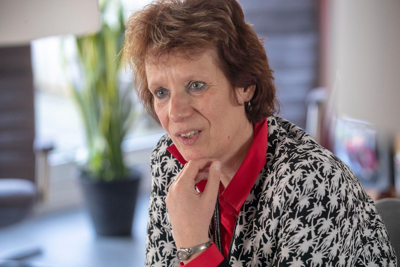 Agnes Lagerweij: ,,Blijkbaar is er een behoefte onder mantelzorgers, in een vertrouwde omgeving met elkaar in contact te komen.''