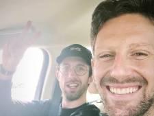 Romain Grosjean a quitté l'hôpital