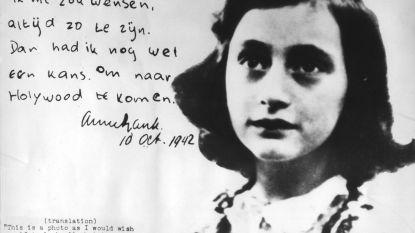 Onderzoekers ontcijferen twee afgeplakte 'schunnige' pagina's uit dagboek Anne Frank