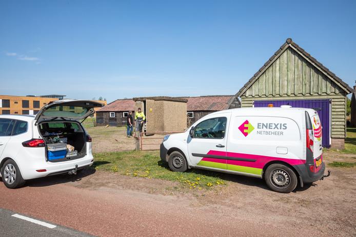 De stroomstoring in de Ommer woonwijken Alteveer en Vlierlanden was rond 16.15 uur verholpen.