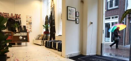 Niet iedereen blij met wekelijks confettikanon van kledingzaak in Deventer