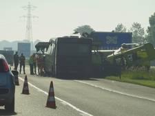 Files rond Bergen op Zoom na botsing bus met signaleringsvoertuig