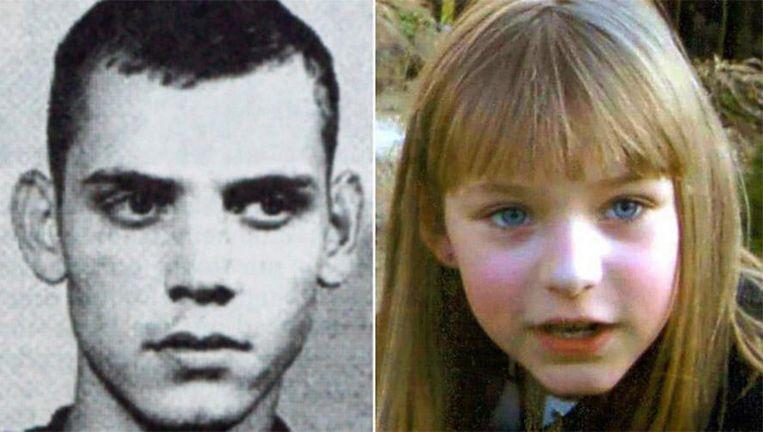 Uwe Böhnhardt en het 9-jarige slachtoffer Peggy