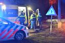 Een automobilist op de Achtmaalseweg in Zundert is van de weg geraakt met zijn auto.