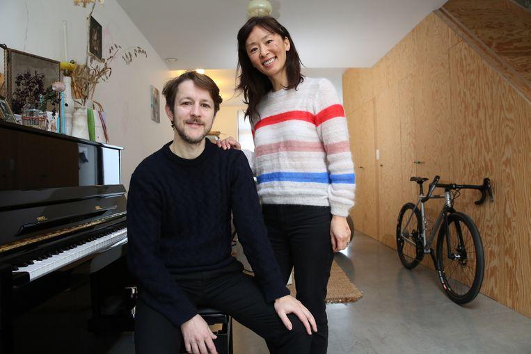 Frederik Sioen en zijn partner Ae Jin