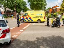 Scooterrijder ontwijkt auto en gaat onderuit in Nieuwegein