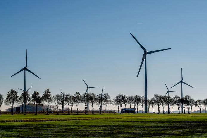 Windmolens, elders in Nederland.