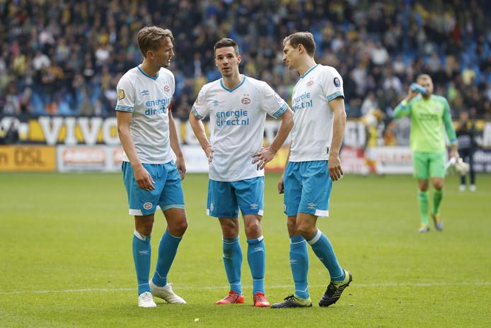Luuk de Jong, Nick Viergever en Daniel Schwaab