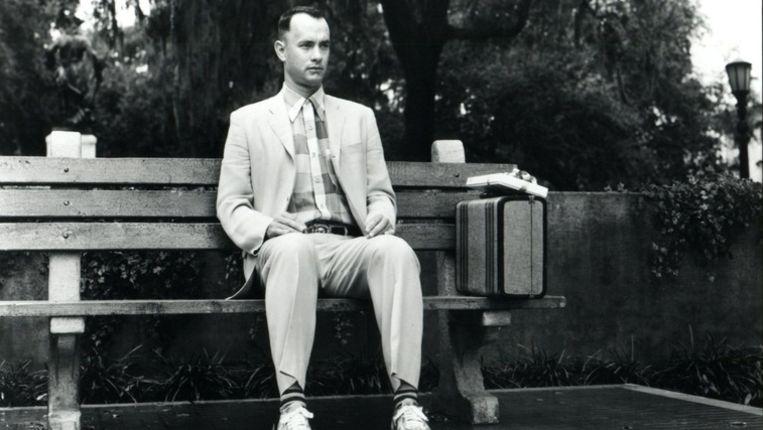 Tom Hanks in de rol van Forrest Gump. Beeld ap