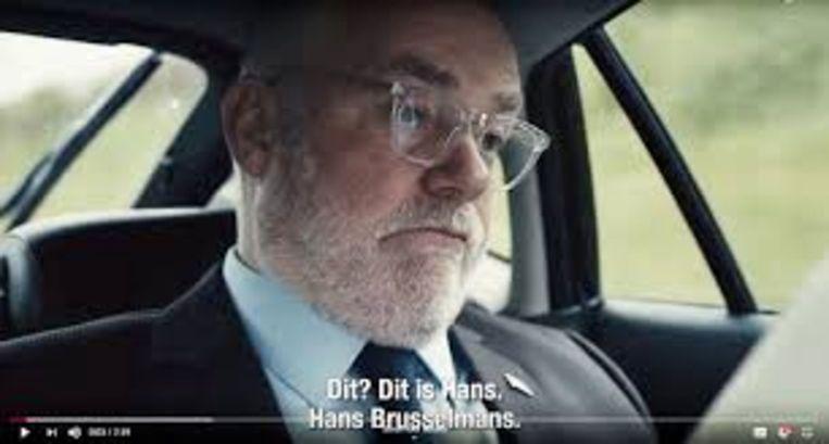 Brusselmans: karakterzelfmoord. Beeld