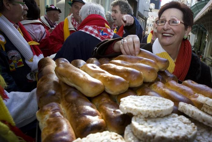Worstenbrood in de Ridderstraat