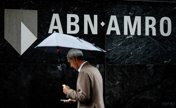Het hoofdkantoor van ABN Amro