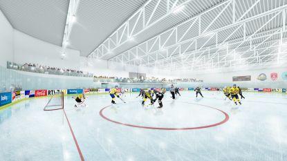 Bouw van sportcentrum Sportoase Groot Schijn van start gegaan, mét grootste ijsbaan het land