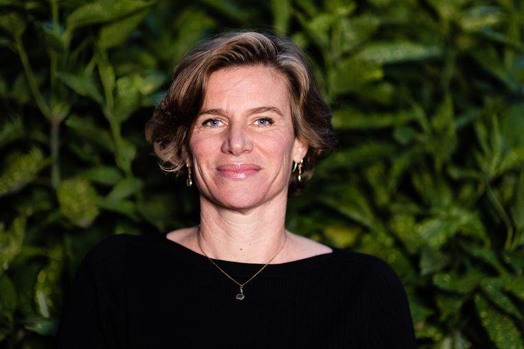 Mariana Mazzucato. Beeld Katja Poelwijk