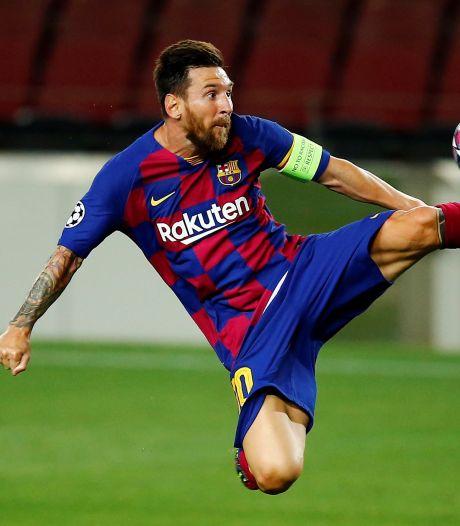 Messi fit voor kraker tegen Bayern