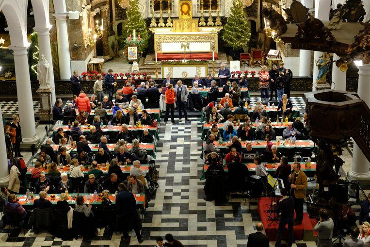 Een kerstfeest in de prachtige setting van de Sint-Carolus Borromeuskerk.