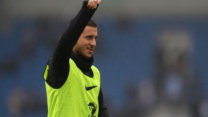 MULTILIVE buitenland: Geen Courtois (enkel), maar Hazard pakt uit met zijn 100ste competitiegoal en Batshuayi met een assist (0-2)