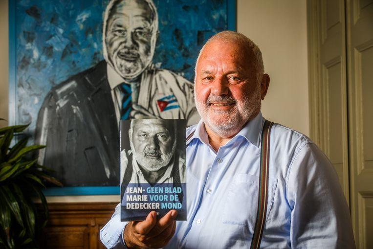 Met 'Geen blad voor de mond' lanceert Jean-Marie Dedecker intussen zijn zevende boek.