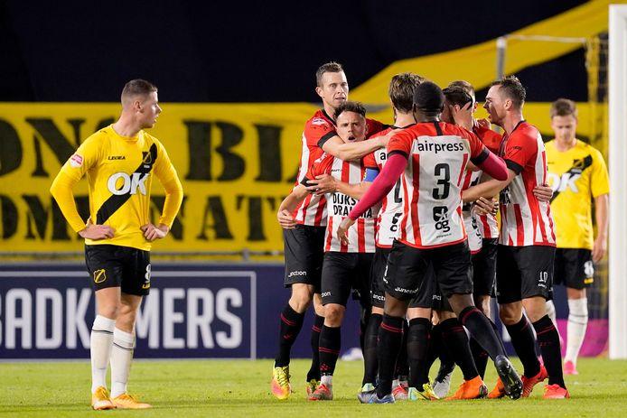 Cambuur wint met 0-4 bij NAC.