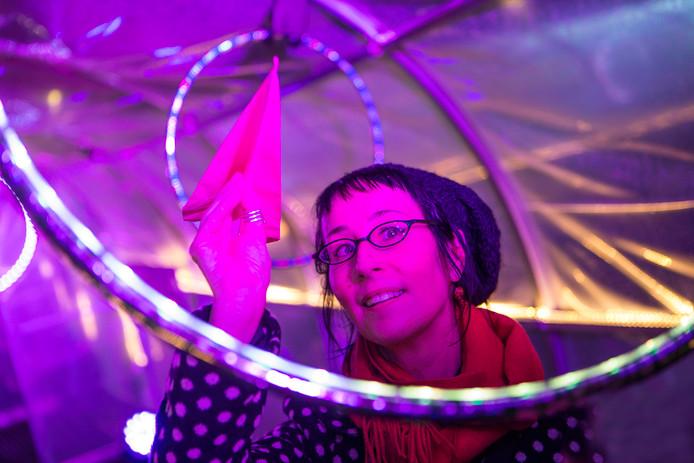Mary Laine, directeur LUX Light Festival Wellington Nieuw-Zeeland