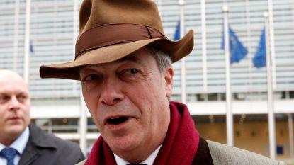 """Farage: """"Tweede referendum over brexit is nodig. Om helemaal zeker te zijn"""""""