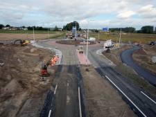 Rotonde Tractaatweg in recordtijd klaar