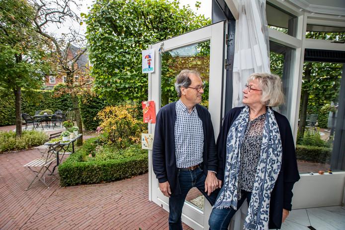 Piet met zijn vrouw Mieke.