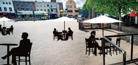 Terrassen in het park, bij de kerk en op Terwaenen: zo ziet het Osse centrum er na 1 juni uit