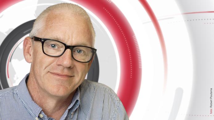 Allard Berends, hoofdredacteur van Omroep Flevoland.