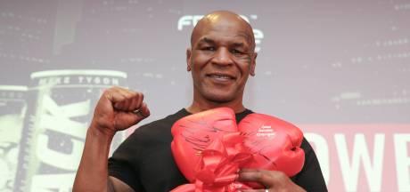 Geen grammetje vet, één bonk spier: Mike Tyson is terug