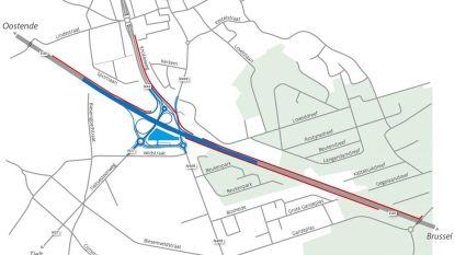Geluidsschermen langs E40 en N44 in Aalter komen er al vanaf volgend jaar
