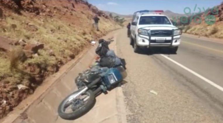 Televisiezender Abya Yala TV verspreidde beelden van het ongeval.