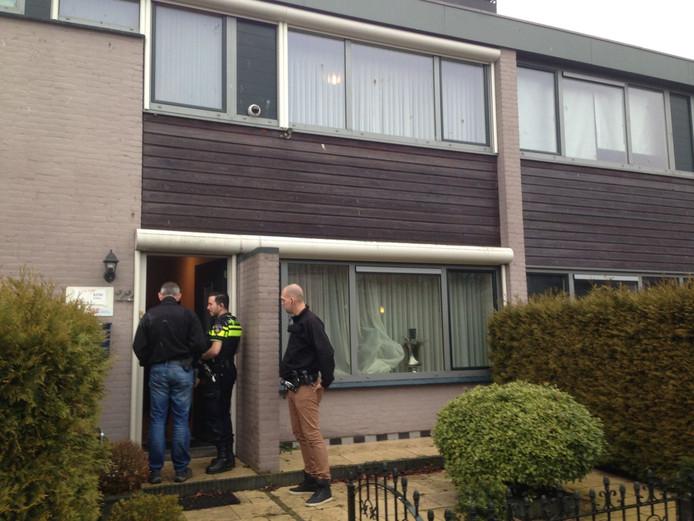 Drugslab gevonden in woonwijk in Bergen op Zoom.