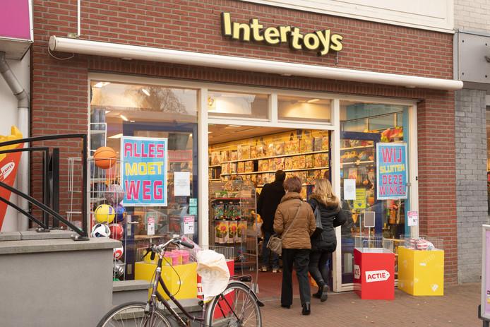 Nog eens 62 winkels van Intertoys dicht.