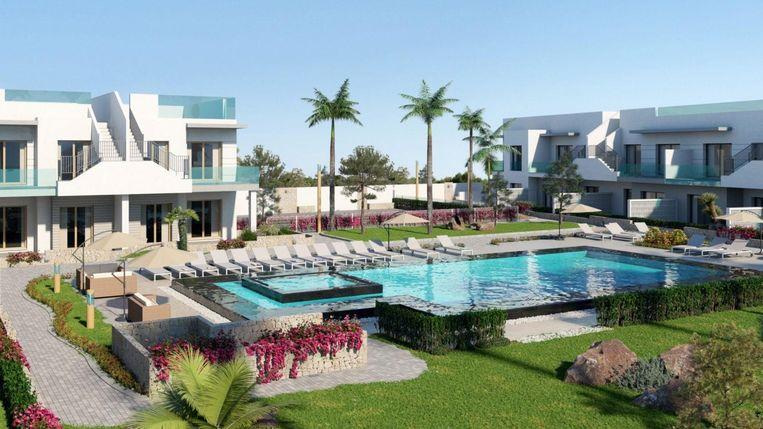 Appartement met 2 slaap- en badkamers, van 131.000 tot 155.000 euro.