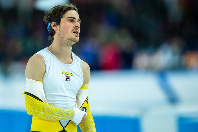 26-01-2019: Schaatsen: NK Allround en Sprint: Heerenveen 1000m Jan Smeekens