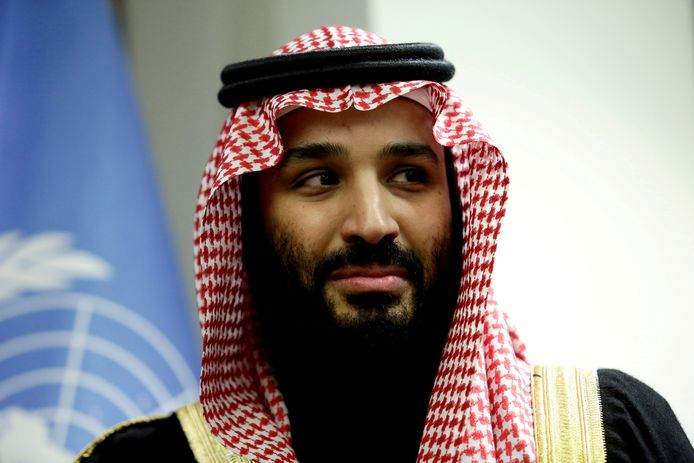 De Saoedische kroonprins Mohammed bin Salman (34).