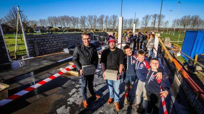 Eerste steen gelegd voor nieuw Rugbycentrum