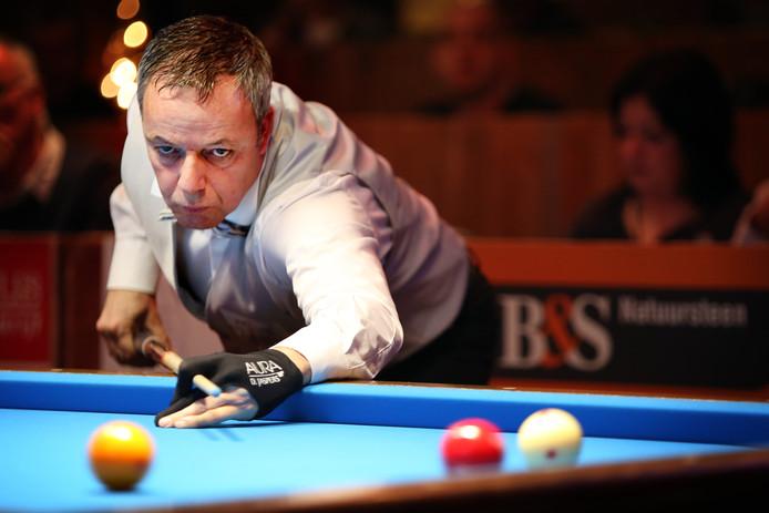 Dick Jaspers blijft wel eerste op de wereldranglijst.