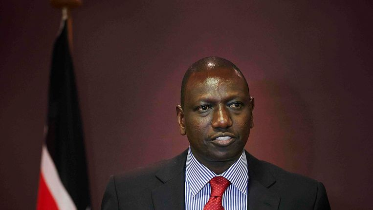 De Keniaanse vicepresident William Ruto Beeld REUTERS
