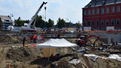 Nieuwe archeologische vondsten in centrum van Namen