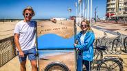 """Knokke gaat strijd aan tegen plastic afval op strand met fietsende jobstudenten: """"Veel efficiënter dan dreigen met GAS-boetes"""""""