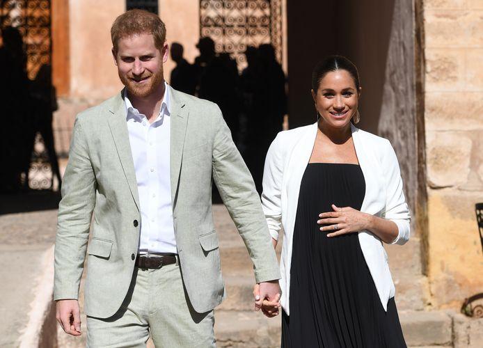 Prins Harry en Meghan