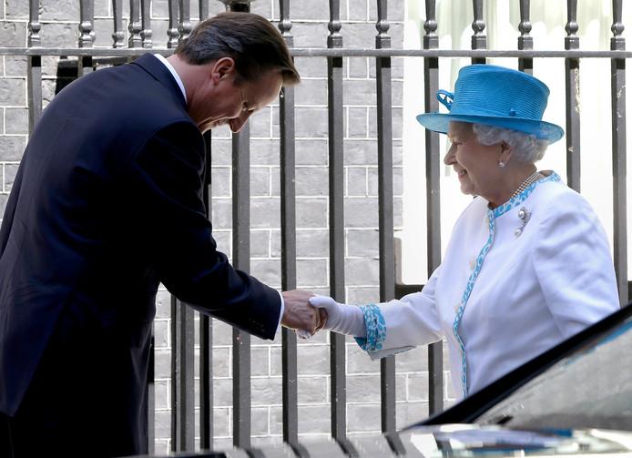 David Cameron en de Queen