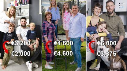Vier gezinnen maken 'coronarekening' voor april: van net niet kopje-onder gaan, tot eenzaam extra sparen
