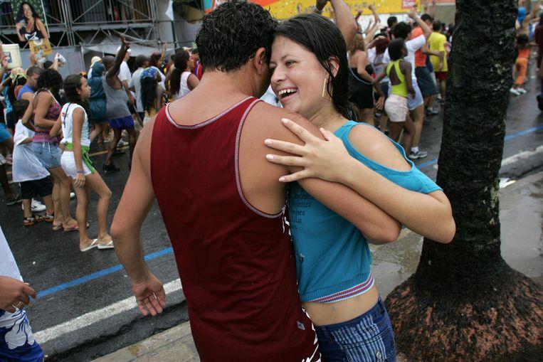 'Een maand geleden was ik in Brazilië. Dat was geweldig. De Brazilianen hebben een connectie met muziek. Ze dansen.' Beeld getty