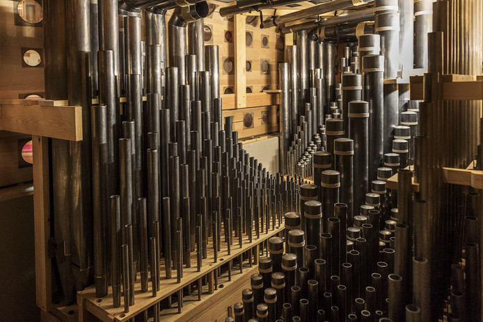 Het barokorgel in TivoliVredenburg speelde dit jaar een grote rol bij het Festival Oude Muziek