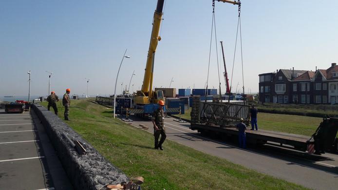 Vrijheidsboulevard in wording op de Scheldeboulevard in Terneuzen.