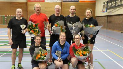 Sportievelingen leven zich uit op 36ste badmintontornooi